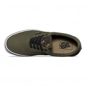 Vans Era (Vintage Camo) Skate Shoes - Ivy Green / Black