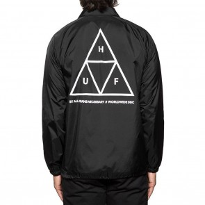 HUF Triple Triangle Coachs Jacket Essential - Black