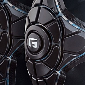 G-Form Pro X Knee Pads - Black / Teal Camo