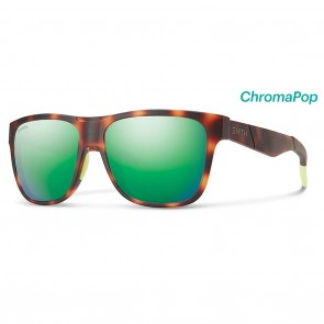 Smith LOWDOWN XL Sunglasses - Matte Tortoise ChromaPop Polarized Brown