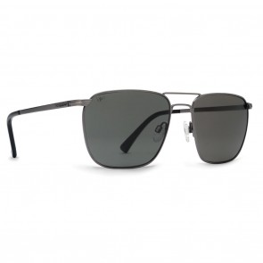 VonZipper LEAGUE Charcoal Grey Poly Polarized Sunglasses