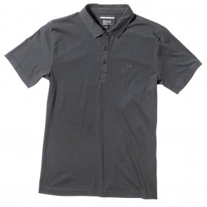 RVCA Sure Thing Mens Polo Shirt in Black