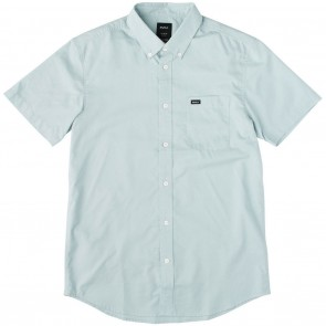 RVCA That'll Do Oxford Short Sleeve Mens Shirt - Cosmos