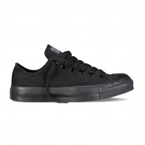 Converse Chuck Taylor All Star Classic Low - Black Monochrome Skate Shoes