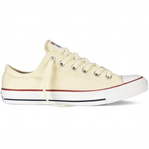 Converse Chuck Taylor All Star Ox Low Skate Shoes - Natural White