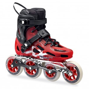 Rollerblade Maxxum 100 Red and Black Inline Skates