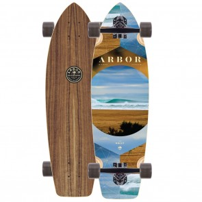 Arbor Walnut Rally Skateboard Complete