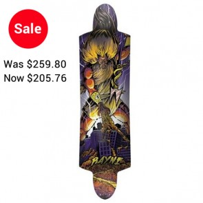 Rayne K. Rimes Mini Kill Switch Longboard Complete - Purple (2011)
