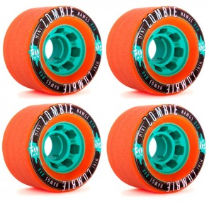 Landyachtz Hawgs Mini Zombies Longboard Wheels - 70mm 84a Orange (2013)
