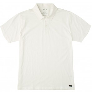 RVCA Sure Thing II Polo Shirt - Antique White