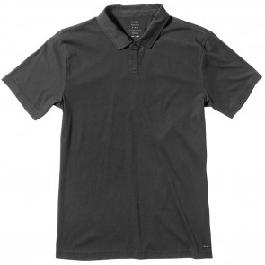 RVCA Sure Thing II Polo Shirt - Black