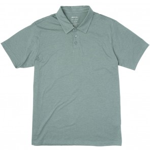 RVCA Sure Thing II Polo Shirt - Pine Tree Heather