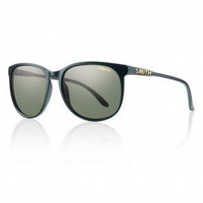 Smith MT. SHASTA Matte Black / Polarized Gray Green Sunglasses