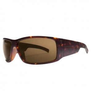 Electric MUDSLINGER Tortoise Shell Melanin Bronze Sunglasses