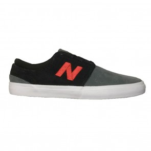 New Balance Brighton 344 Skate Shoes - Black / Grey / Red