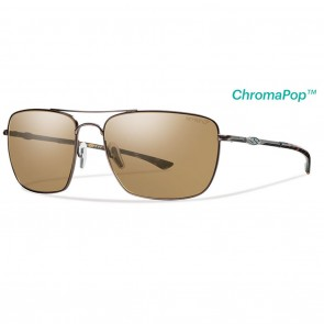Smith Nomad Matte Brown / ChromaPop Polarized Brown Sunglasses