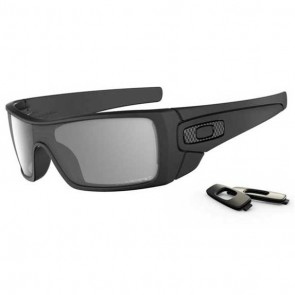 Oakley BATWOLF Matte Black / Grey Polarized Sunglasses