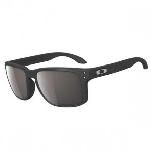 Oakley HOLBROOK Matte Black with Warm Grey sunglasses-oo9102-01
