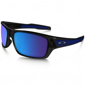 Oakley TURBINE XS Black Ink Sapphire Iridium Sunglasses
