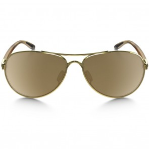 Oakley TIE BREAKER Polished Gold Tungsten Iridium Sunglasses