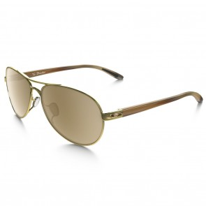 Oakley TIE BREAKER Polished Gold with Tungsten Iridium Sunglasses