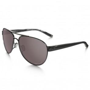 Oakley DISCLOSURE Polished Black with Oo Grey Polarized Sunglasses