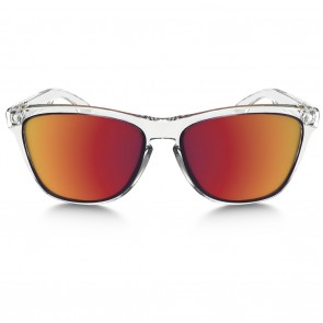Oakley FROGSKINS CRYSTAL COLLECTION Polished Clear Torch Iridium Sunglasses