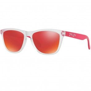 Oakley FROGSKINS Matte Clear Torch Iridium Sunglasses