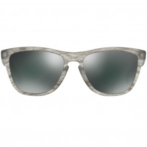 Oakley FROGSKINS Matte Clear Woodgrain Black Iridium Sunglasses