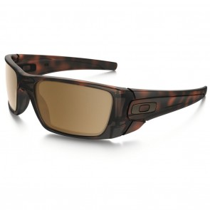 Oakley FUEL CELL Matte Tortoise w/ Tungsten Iridium Sunglasses