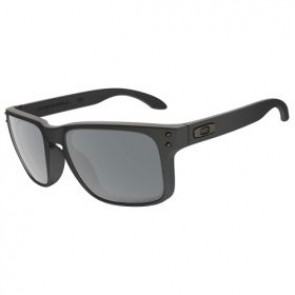Oakley HOLBROOK Matte Black  Black Iridium Polarized sunglasses-OO9102-62