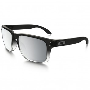 Oakley HOLBROOK Dark Ink Fade Chrome Iridium Polarized Sunglasses Main