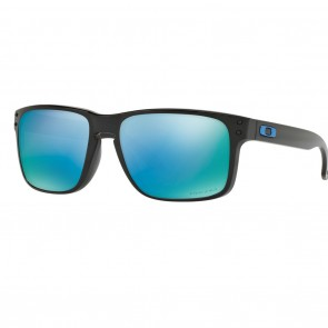 Oakley HOLBROOK Polished Black Prizm Deep Water Polarized Sunglasses