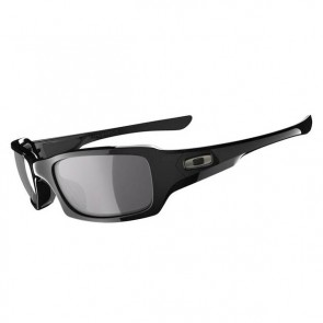Oakley FIVES SQUARED Polished Black  Grey sunglasses-OO9238-04