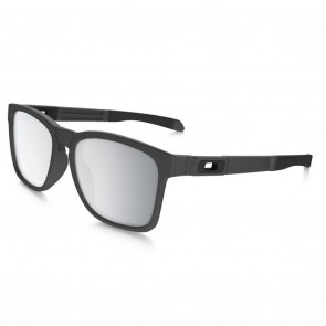 Oakley CATALYST Sunglasses Steel / Chrome Iridium