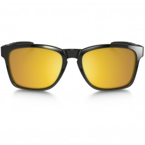 Oakley CATALYST Polished Black 24K Iridium Sunglasses