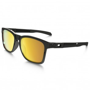 Oakley CATALYST Polished Black / 24K Iridium Sunglasses