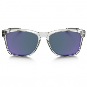 Oakley CATALYST Polished Clear Violet Iridium Sunglasses