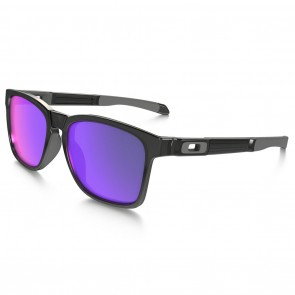 Oakley CATALYST Black Ink / Positive Red Iridium Sunglasses