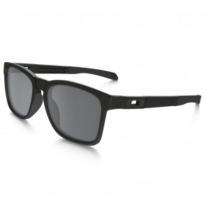 Oakley CATALYST Matte Black / Black Iridium Polarized Sunglasses