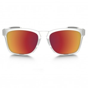 Oakley CATALYST TORCH COLLECTION Matte Clear Torch Iridium Sunglasses