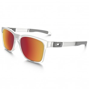 Oakley CATALYST TORCH COLLECTION Sunglasses - Matte Clear / Torch Iridium