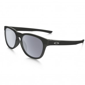 Oakley STRINGER Sunglasses - Matte Black / Grey