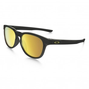 Oakley STRINGER Sunglasses - Polished Black / 24k Iridium