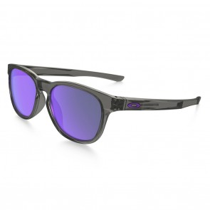 Oakley STRINGER Sunglasses - Grey Smoke / Violet Iridium