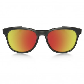 Oakley STRINGER Matte Black Ruby Iridium Sunglasses