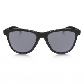 Oakley MOONLIGHTER Polished Black Grey Sunglasses