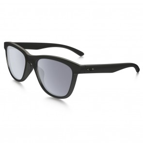 Oakley MOONLIGHTER Sunglasses - Polished Black / Grey