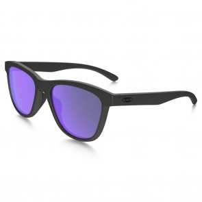 Oakley MOONLIGHTER Sunglasses - Matte Black / Violet Gradient Polarized