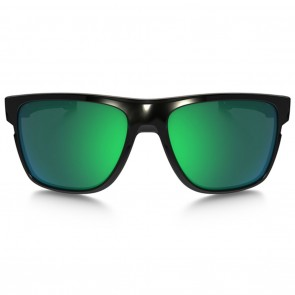Oakley CROSSRANGE XL Polished Black Jade Iridium Sunglasses